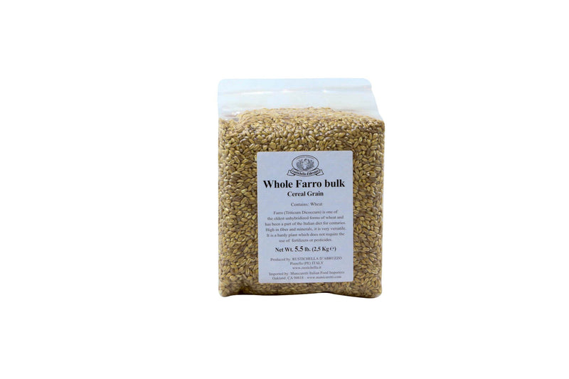 Farro Perlato Whole: 2 x 5.5lbs Case