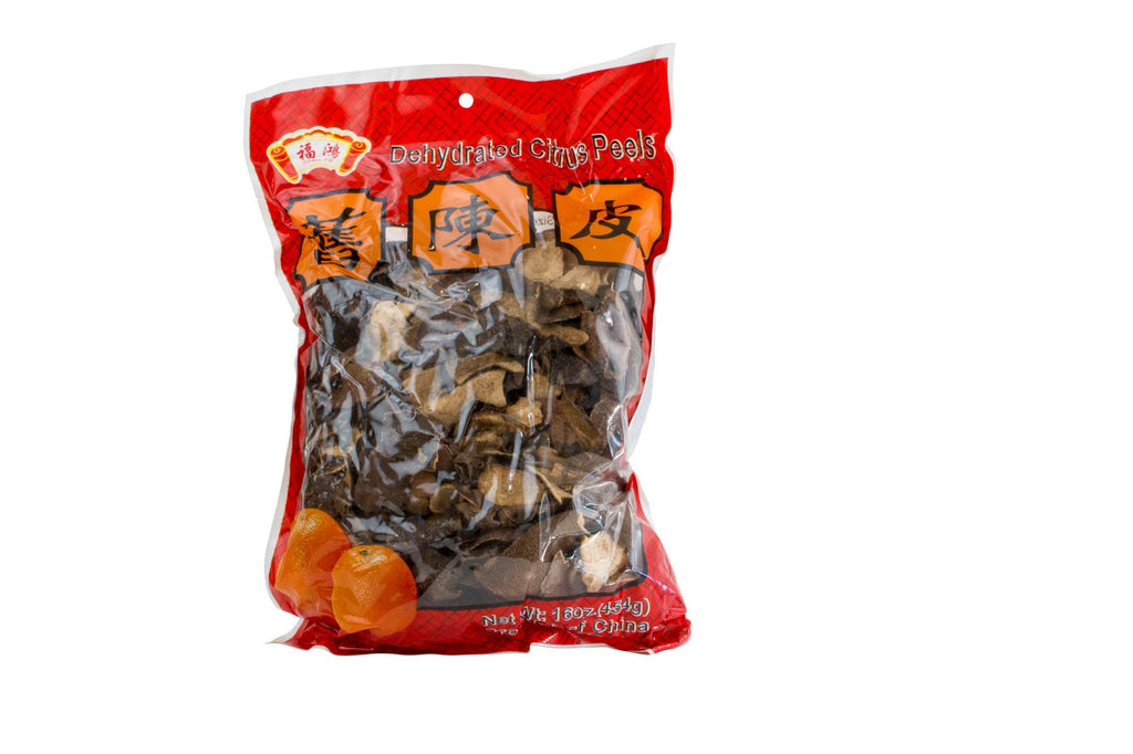 Orange Peels Dry, China 1 Lb