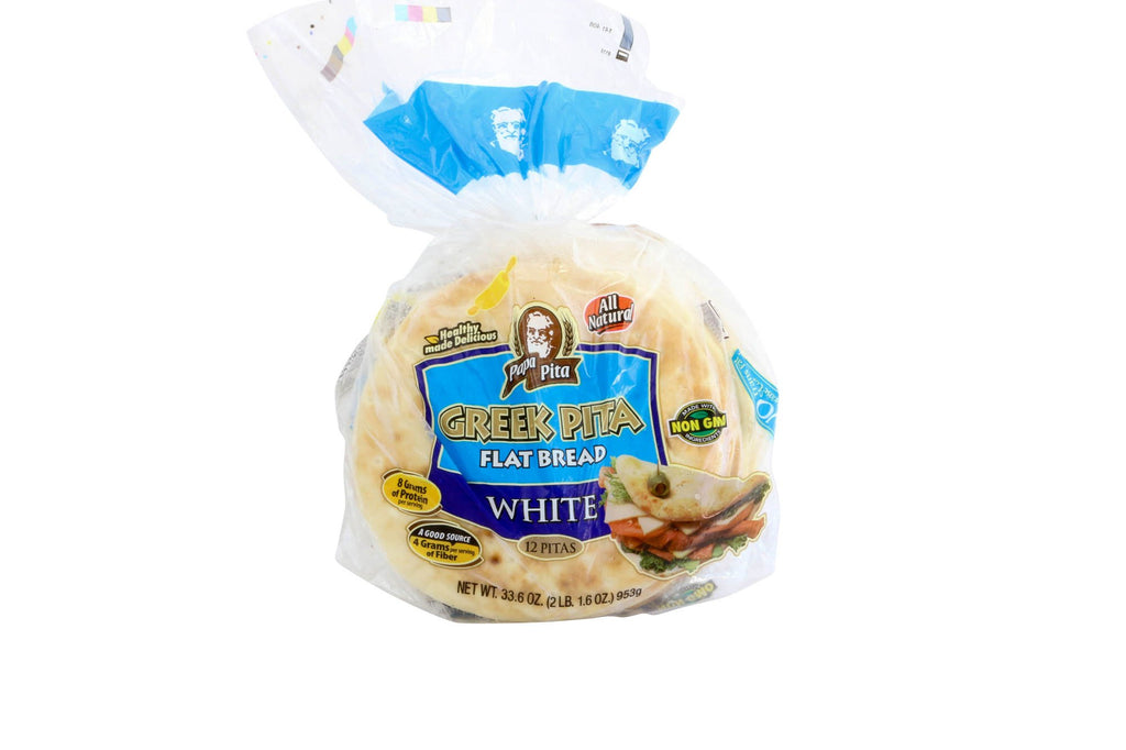 Pita Bread 7 Inch Frozen 24/6 ct