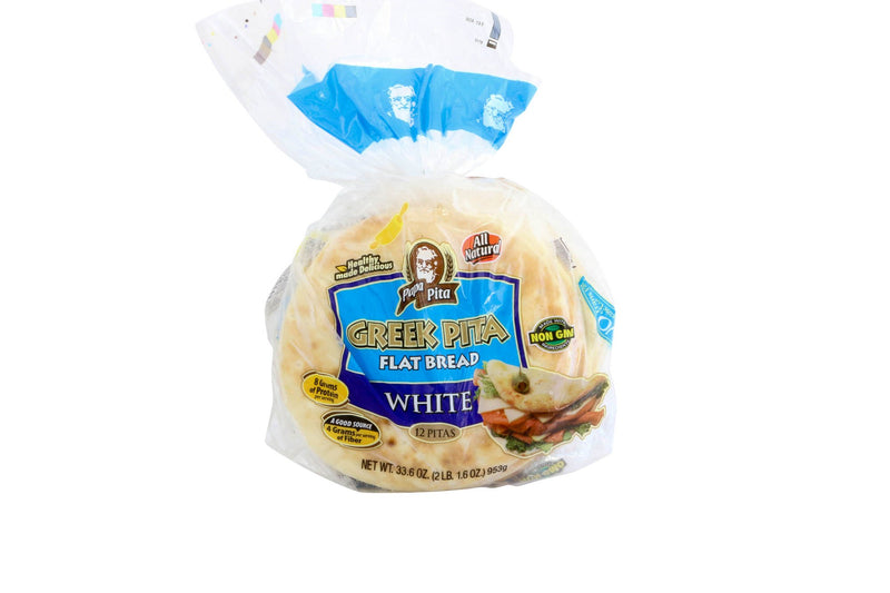 "Pita Bread 7 Frozen"" 24/6 Ct"