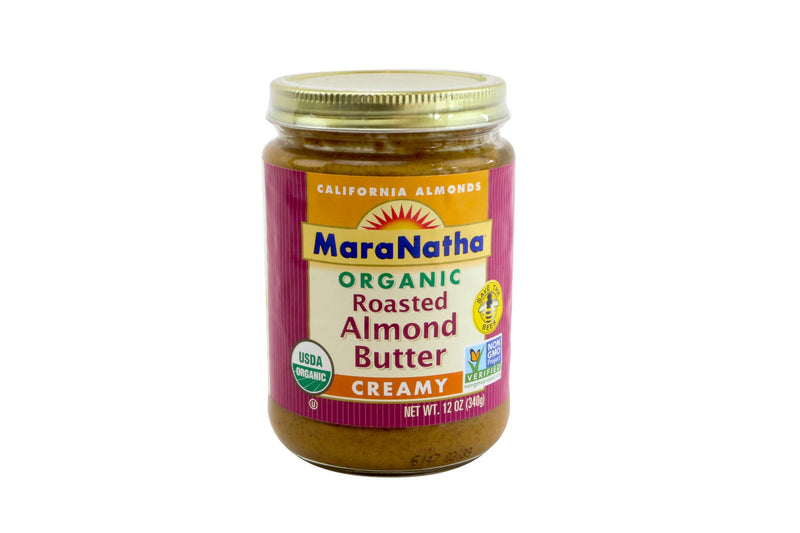 Almond Butter Natural Organic 6/12 Oz