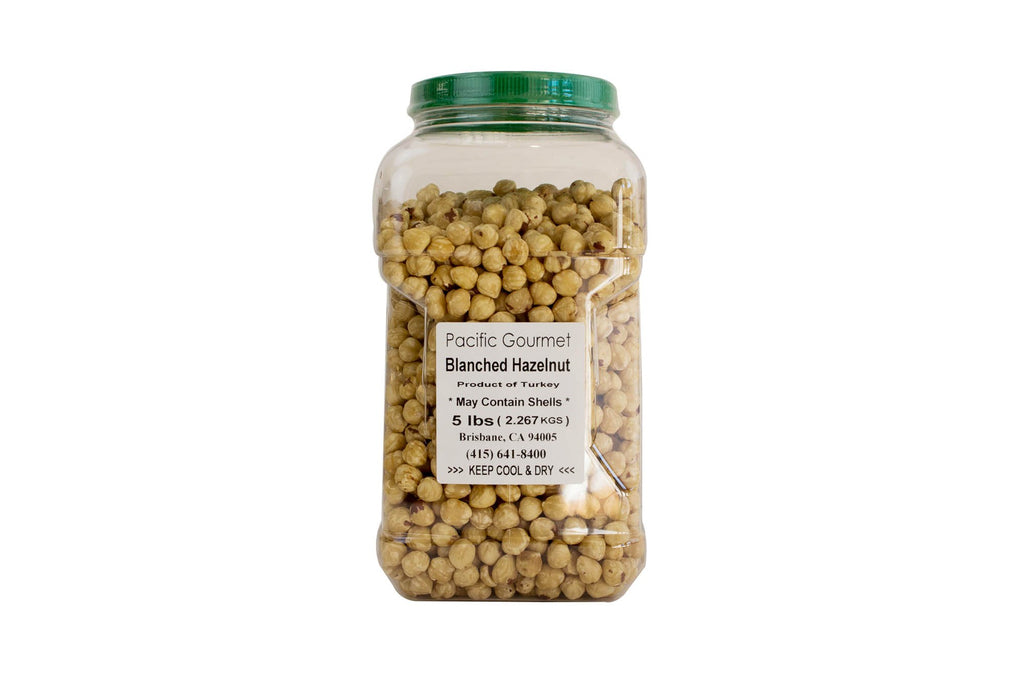 Hazelnuts Blanched: 5lbs
