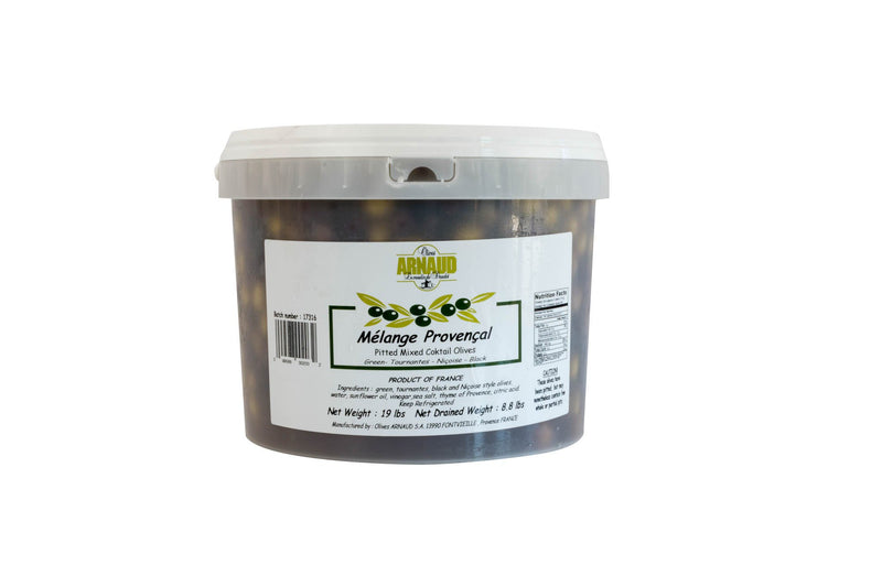 Olives Provencal Fresh Mix Pitted: 4kg