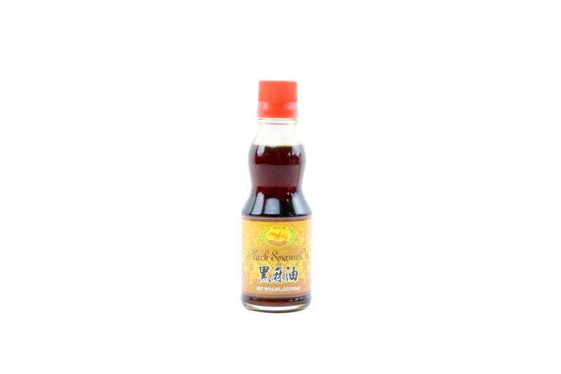 Black Sesame Oil: 6.2oz
