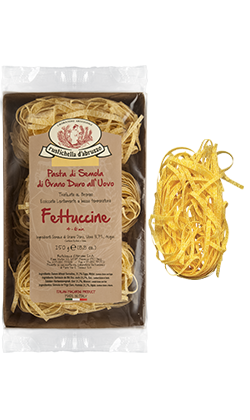 Egg Fettuccine: Case
