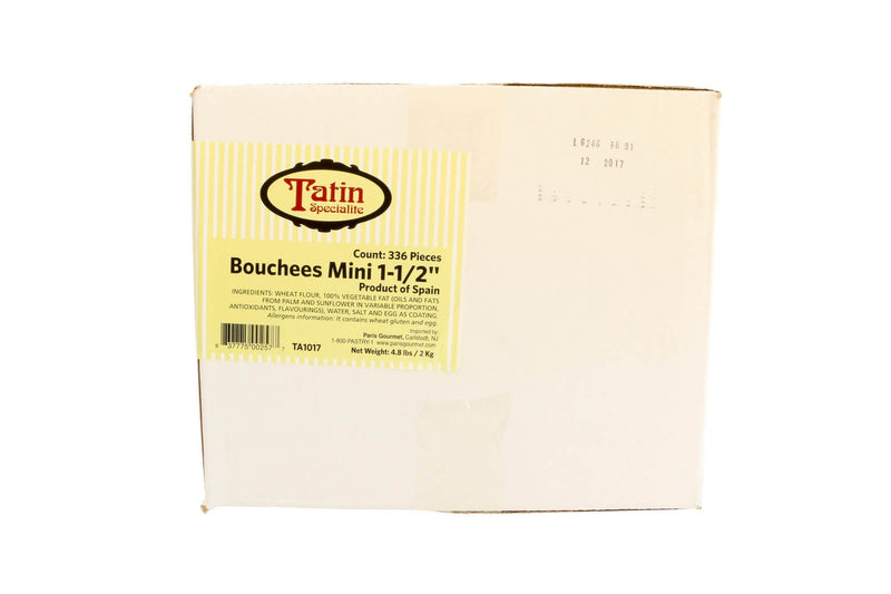 Bouchees Mini Vol Au Vent 1.5 Inch 336/1.5 Oz
