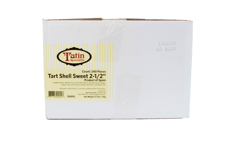 Tart Shell Sweet 2.5 Inch 240 Ct