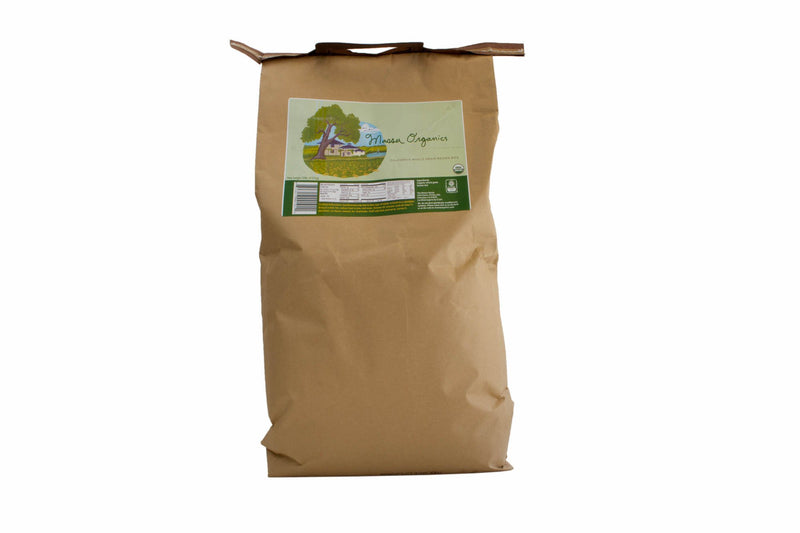 Brown Medium Grain Rice Organic: 20lbs