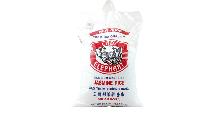 Jasmine Fragrant Rice, Thailand 25 Lb