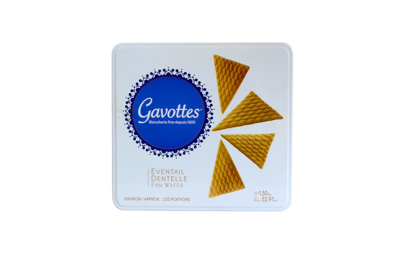 Eventail Fan Wafers, 176 Ct 4/1.5 Kg