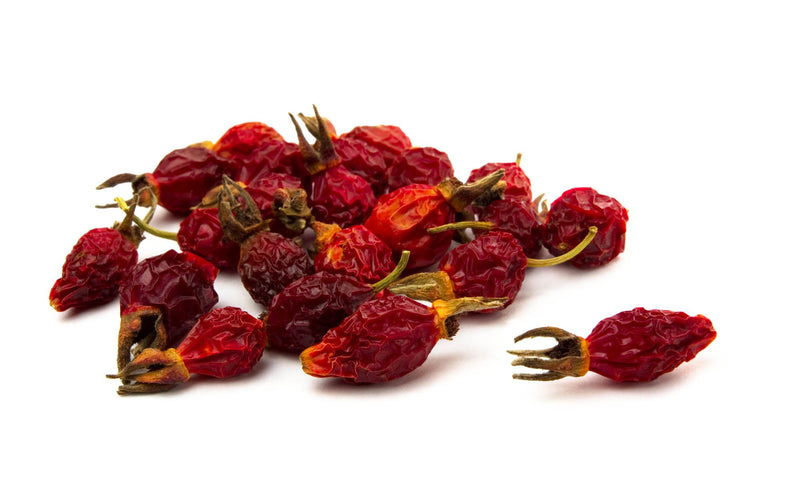 Rose Hips Whole Dried Organic: 1lb