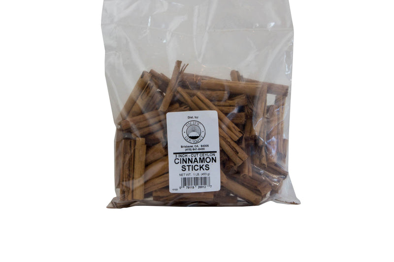 Cinnamon Sticks Ceylon 3 Inch 1 Lb