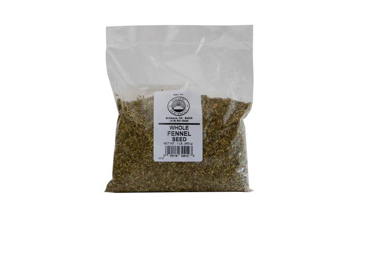 Fennel Seeds Whole 6/12 oz