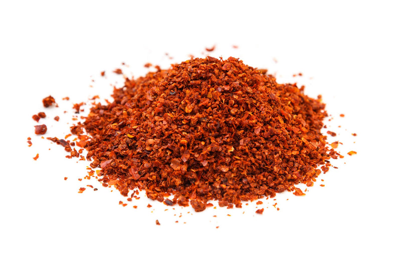 Aleppo Pepper Crushed - Syria 12/1 Lb Pk