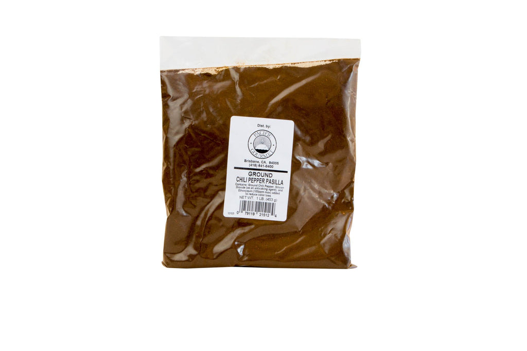 Chile Pasilla Powder: 1lb