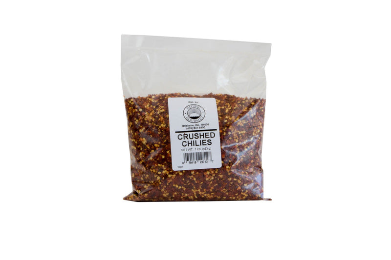 Chile Flakes Crushed With Seeds 1 Lb