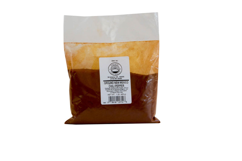 Chile New Mexico Powder: 1lb