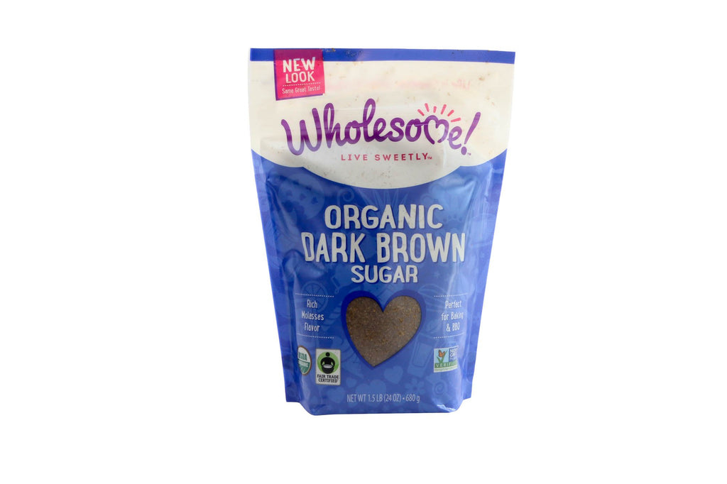 Dark Brown Sugar Organic 6/24 Oz