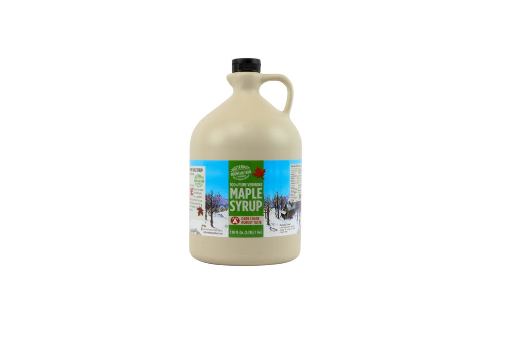 "Maple Syrup Grade B"" Vermont"" 4/1 Gal"