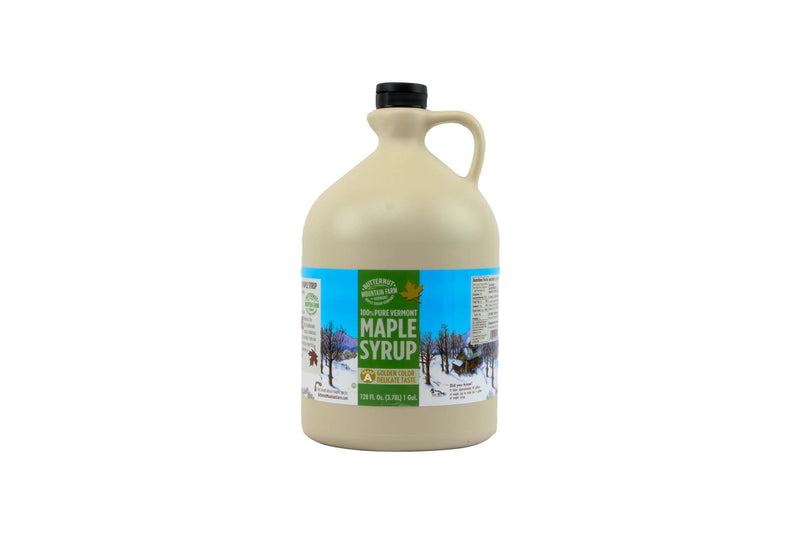 Maple Syrup Golden: 1 gal