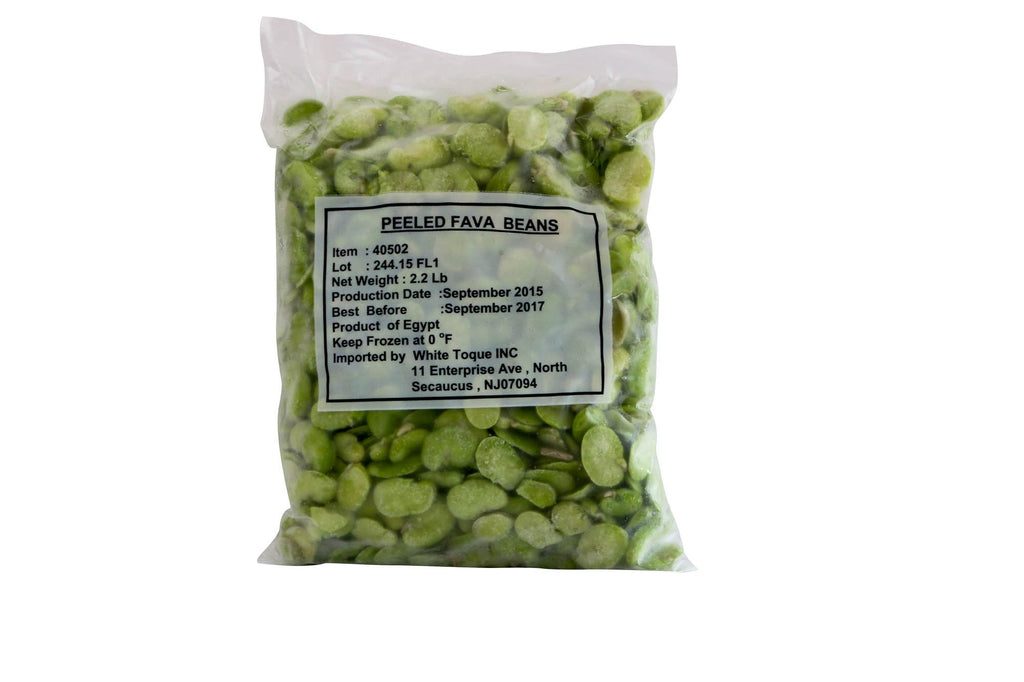 Fava Beans Shelled Frozen 10/2.2 Lb