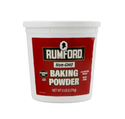 Baking Powder No Aluminum: 5lbs