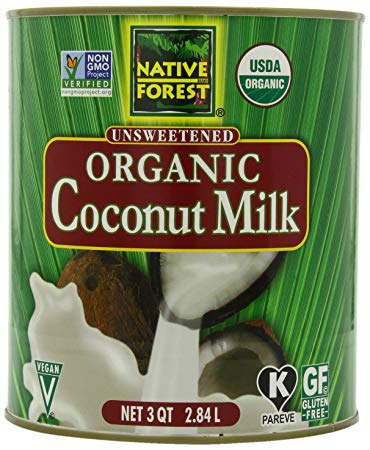 Coconut Milk Organic: 96oz
