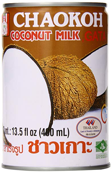 Coconut Milk Unsweetened:  24 x 14 oz Case