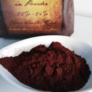 Cocoa Powder 22-24%: 5lbs