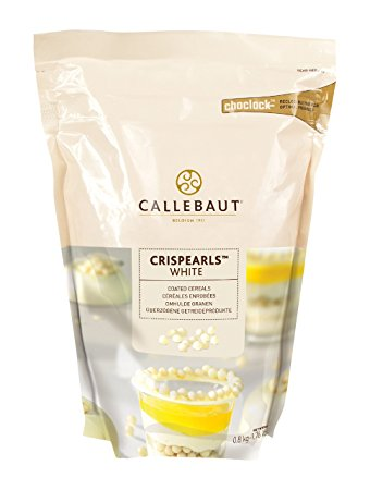Crispearls White Chocolate: 800gr