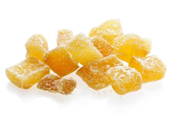 Candied Ginger Small Dice: 5lbs