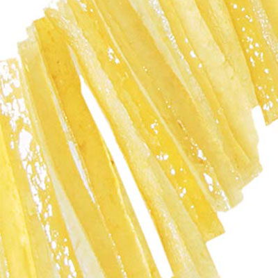 Candied Lemon Strips: 1kg