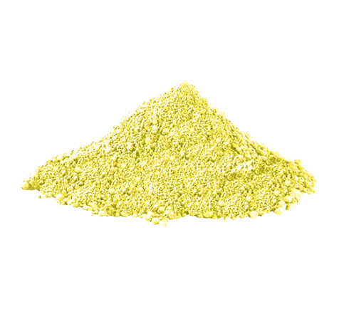Food Color Powder - Yellow (Fat Dispersible): 50 Gr