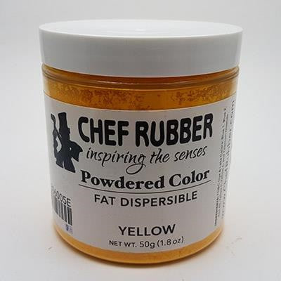 Food Color Powder Yellow (Fat Dispersible) 50 Gr