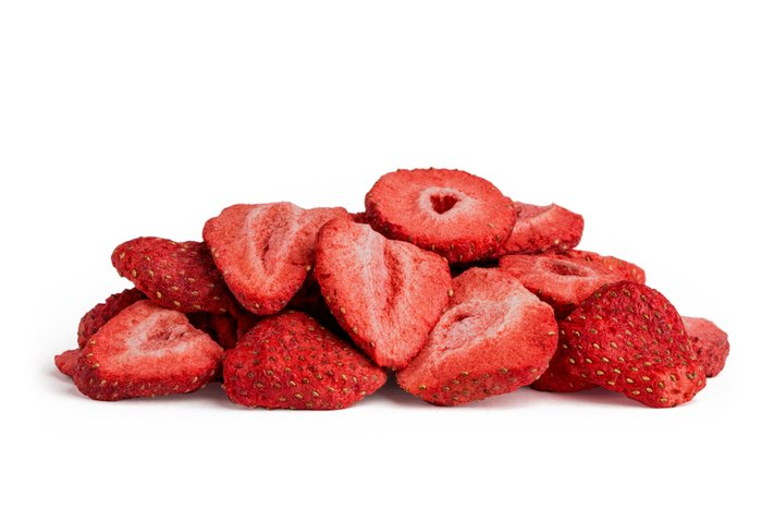 Freeze Dried Sliced Strawberries: 1.25lbs