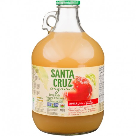 Apple Juice Unfiltered Organic: 96oz