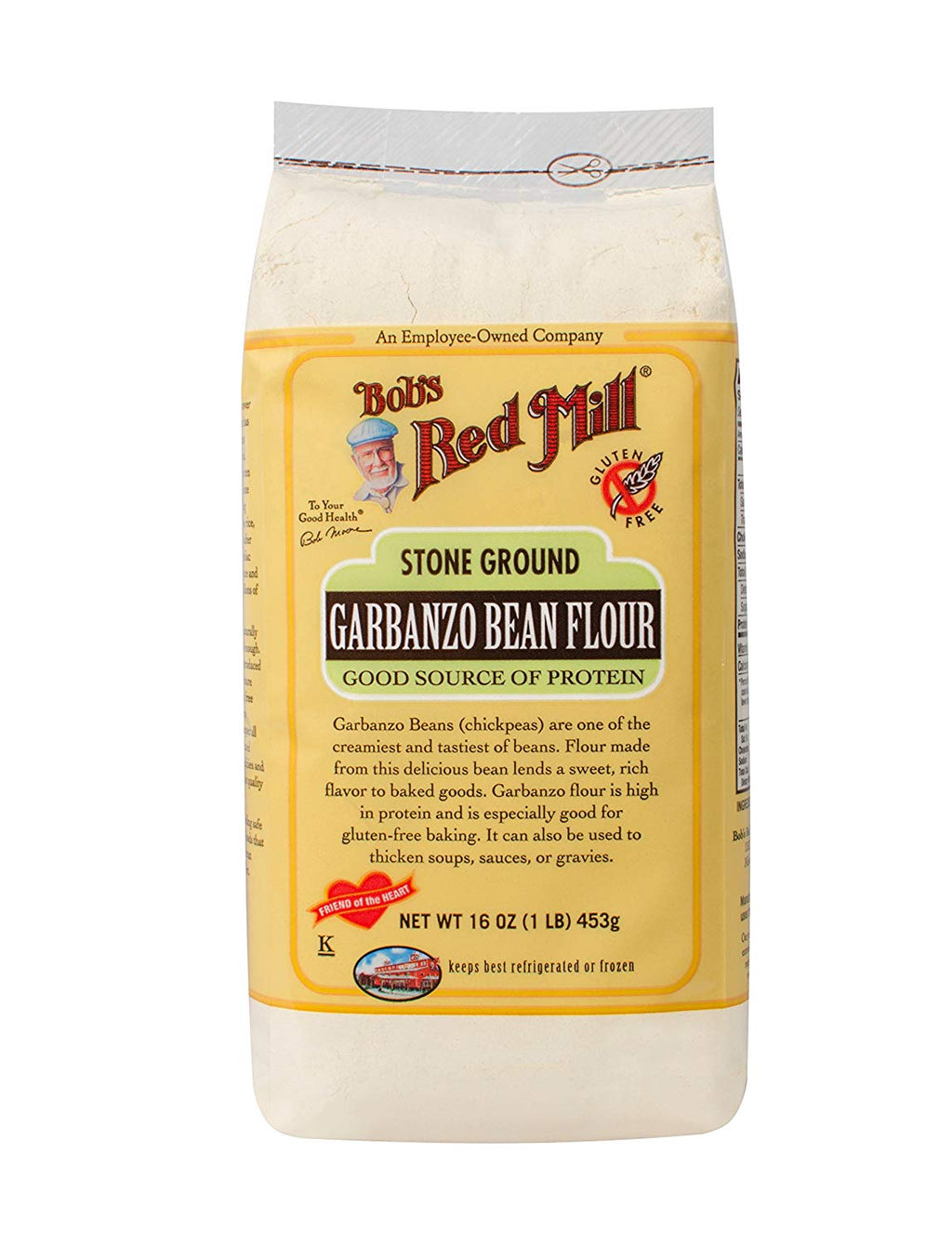 Garbanzo Bean Flour: 16oz
