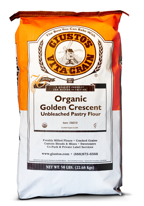 Golden Crescent Pastry Organic: 25lbs