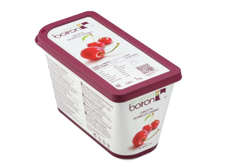 Sour Morello Cherry Puree: 1kg