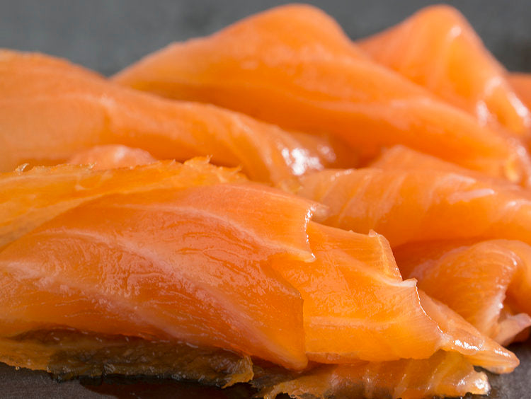 Smoked Salmon Sliced Gold Label: 3lbs [Approx Weight. Price Per Lb]