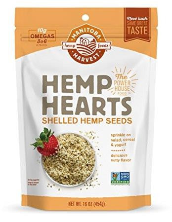 Hemp Seeds Hulled: 5lbs