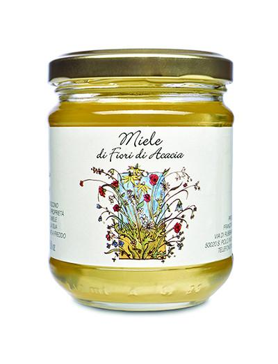 Acacia Honey: 17.6oz