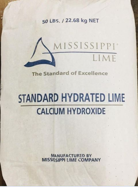 Calcium Hydroxide - Food Grade Lime: 50lbs