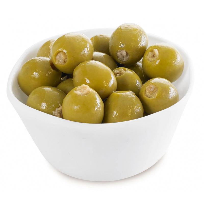 Olives Green Stuffed W/ Anchovies: 1.44kg