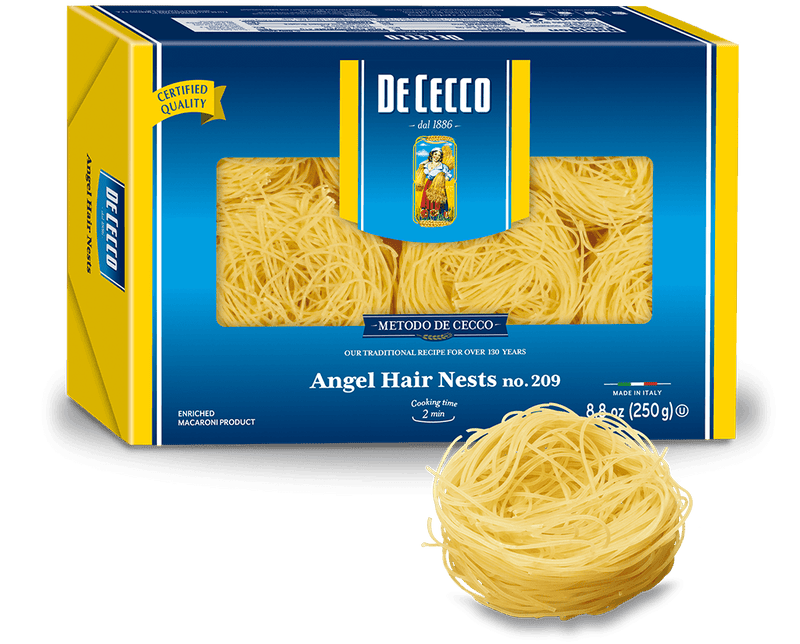 Capellini/Angel Hair Nests: 12 x 8.8oz