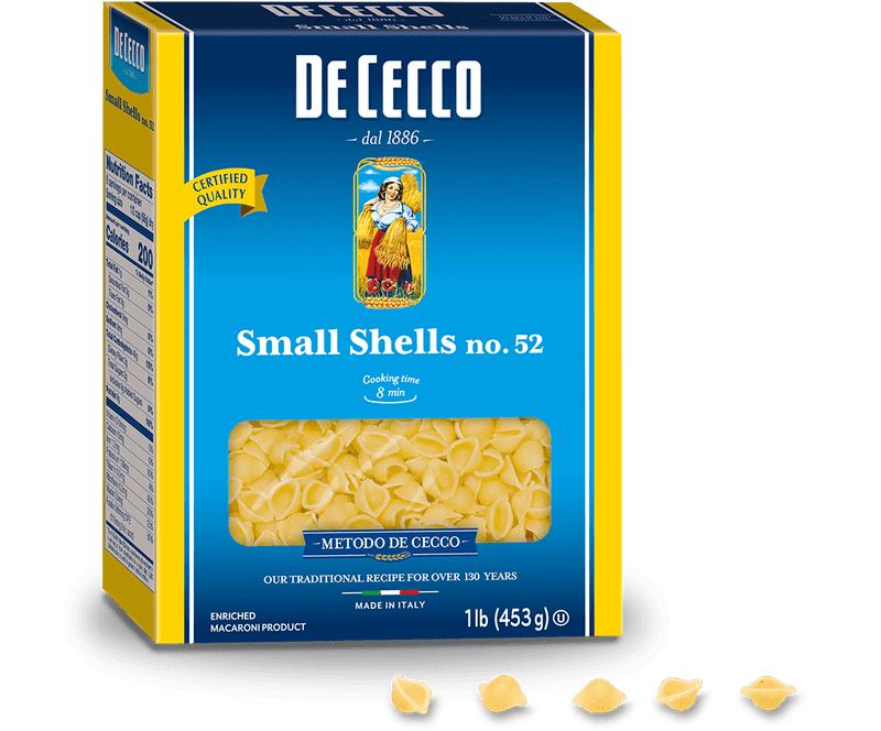 Conchigliette Small Shells: 1lb