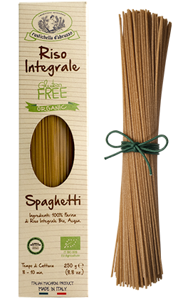 Brown Rice Spaghetti Organic: 12 x 8.8oz Case