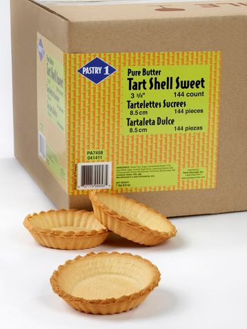 Tart Shells Fluted Sweet: 3 3/8in