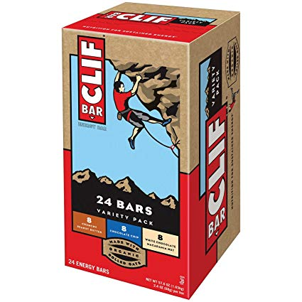 Energy Bars Assorted: 2.4oz