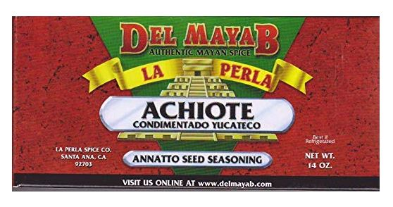 Achiote Paste (Annatto Seasoning): 14oz